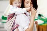 fot. chusta do noszenia dzieci