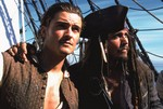 fot. Orlando Bloom i Johnny Depp fot. Forum Film