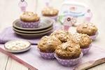 fot. Owsiane muffiny twarogowe z jabłkami