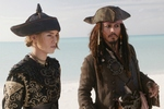 Keira Knightley i Johnny Depp fot. Forum Film